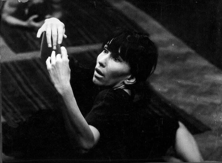 "Eugenio Barba's Archive  B-Grot 9/1 Training at Teatr Laboratorium ""13 Rzedow"" Opole  Actor : Rena Mirecka Photo credit : Zygmunt Samosiuk"