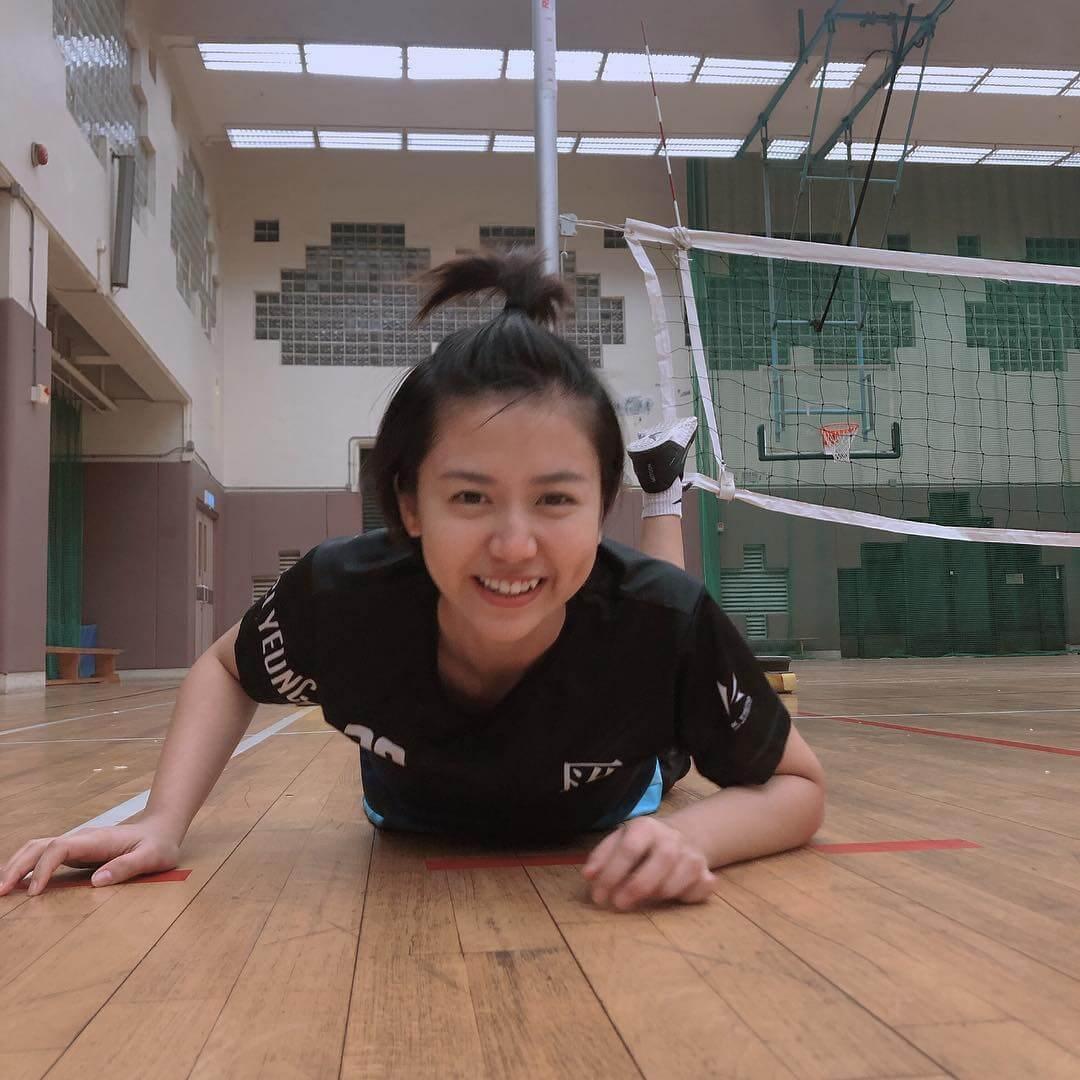 Renci是香港女子乙組排球隊匯青的球員