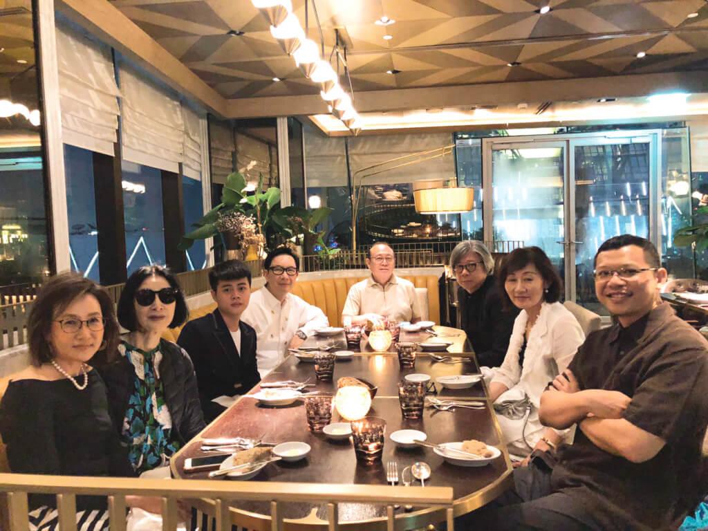旅程的最後一夜,在曼谷的Park Hyatt與好友共進晚餐,誰能料到這已是最後一次與娟娟相聚。