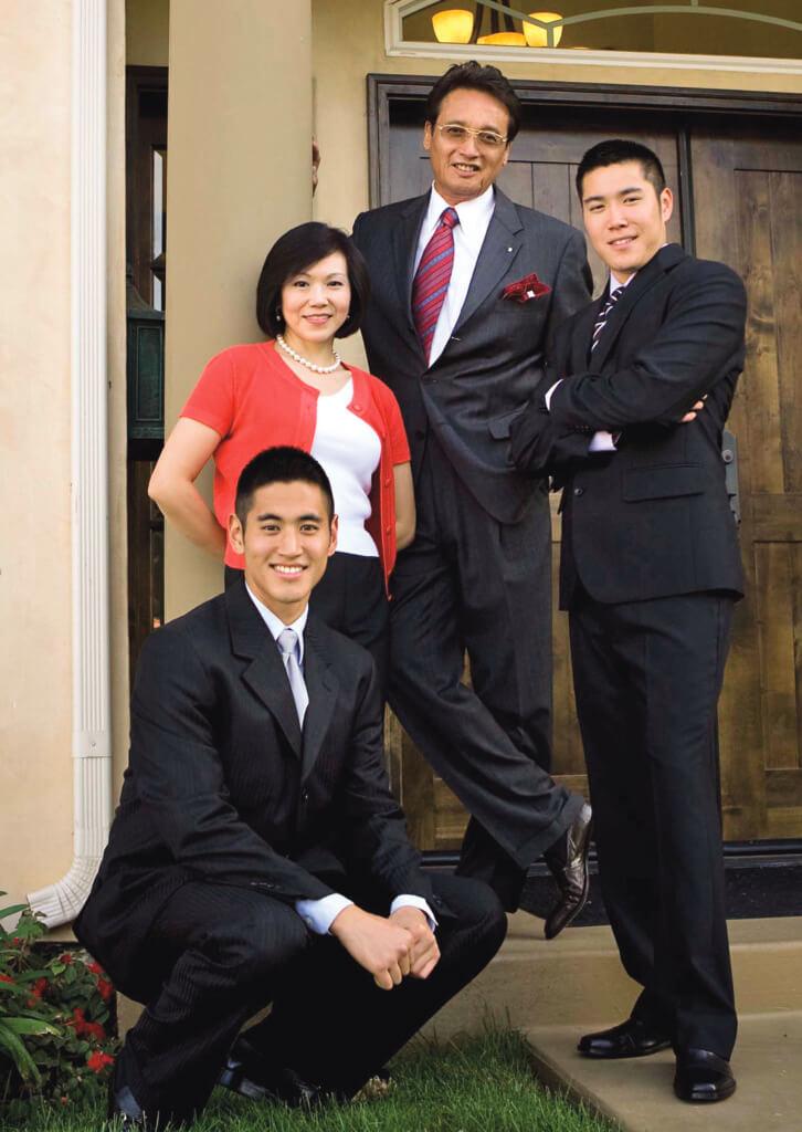 秦祥林說自己很幸運,在電影圈名成利就,又娶得好老婆,老婆把兩個兒子教育得很好,不用他們傷腦筋。