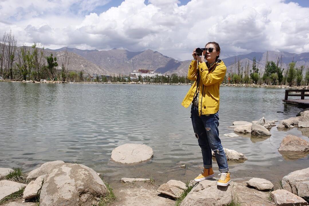 因為信仰關係,阿田一直都希望到西藏旅行,更特地帶了一部靚相機同行,但想不到相機竟有高山反應不能操作,成為今次旅途唯一遺憾。