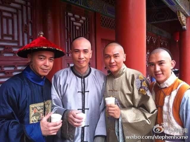一二年與陳豪、關禮傑合作劇集《金枝慾孽貳》。