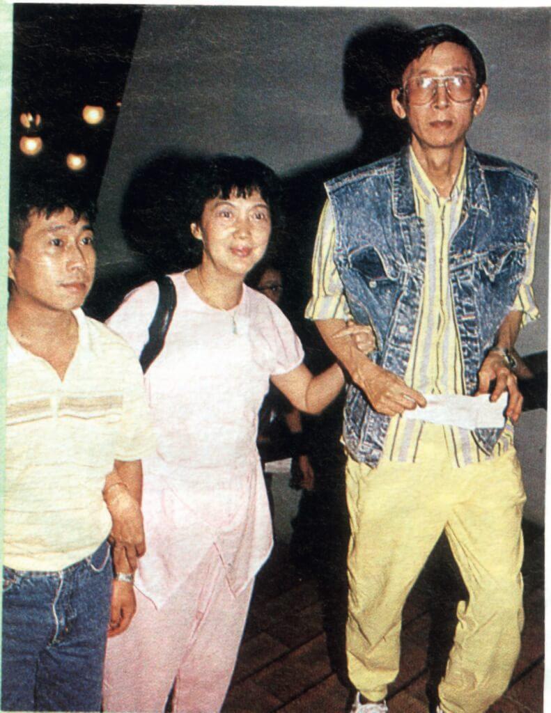 夏萍的第二任老公是樂師張雲,惜九一年已離世。