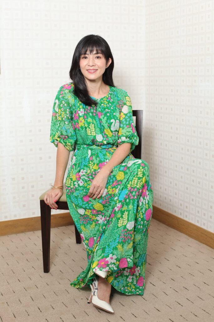 楊采妮說老公很了解她,感恩有對方默默支持和鼓勵。