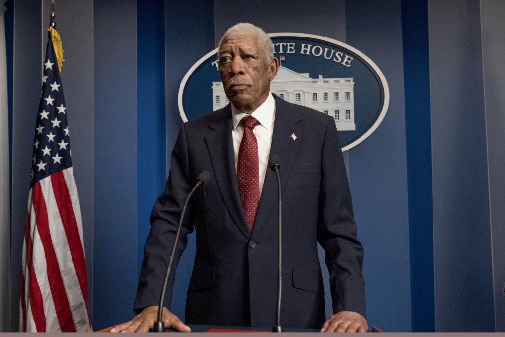 摩根費曼今集已成為美國總統