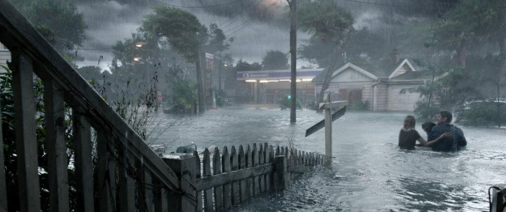 影片巧妙地結合天災與怪獸這兩種最常見的災難片類型