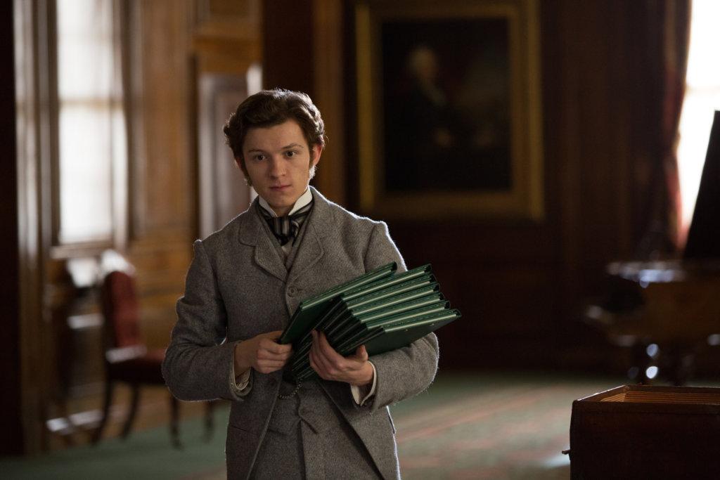 湯賀蘭扮演愛迪生秘書,忠直可愛。