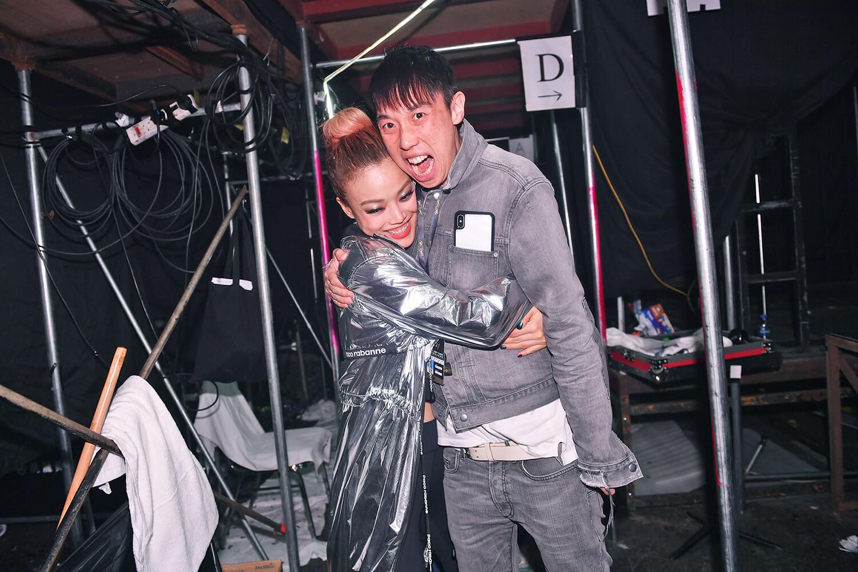 祖兒說這次Crazy騷很感激演唱會製作總監Alex Fung,因為真的不惜工本。