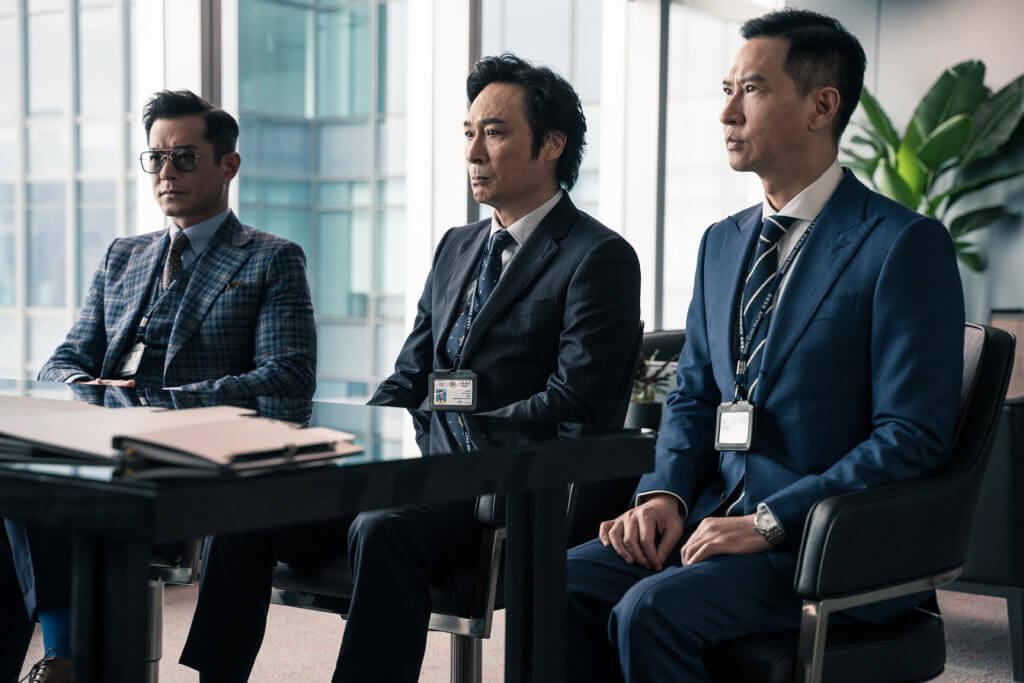 吳鎮宇、張家輝及古天樂相隔三年再拍電影版《使徒行者2》。