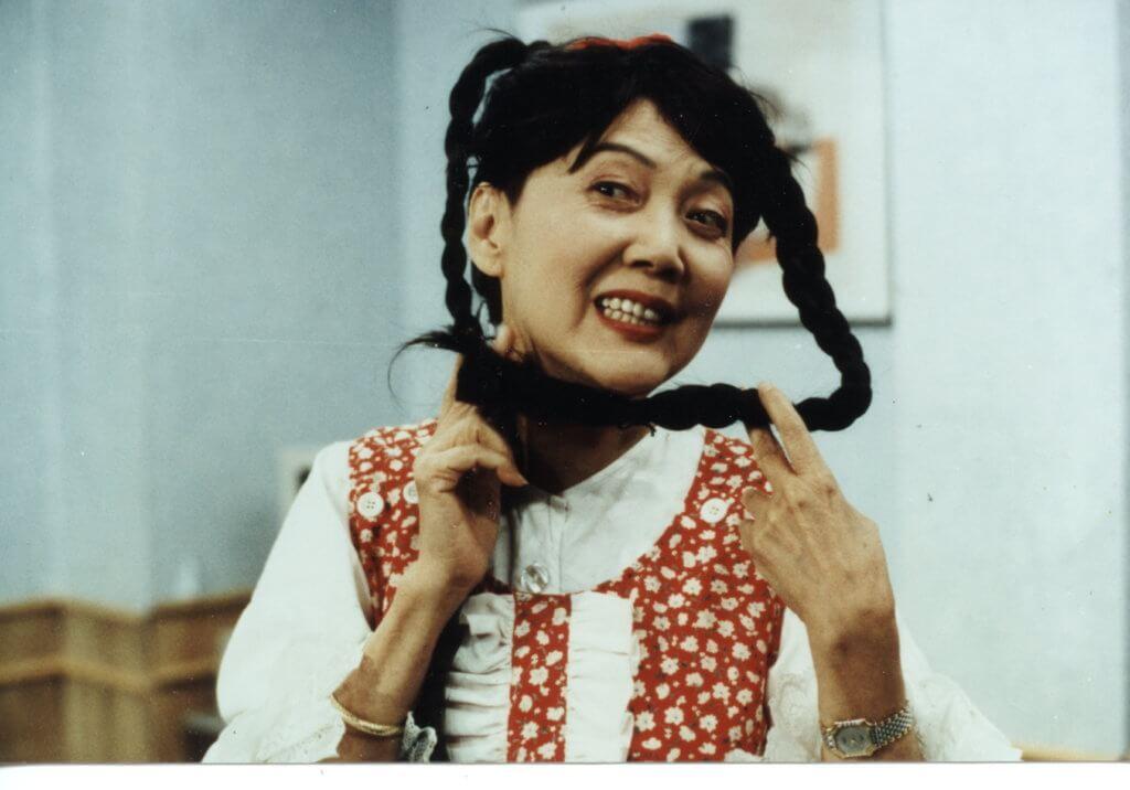 夏萍擅演不同角色,這造型維肖維妙。
