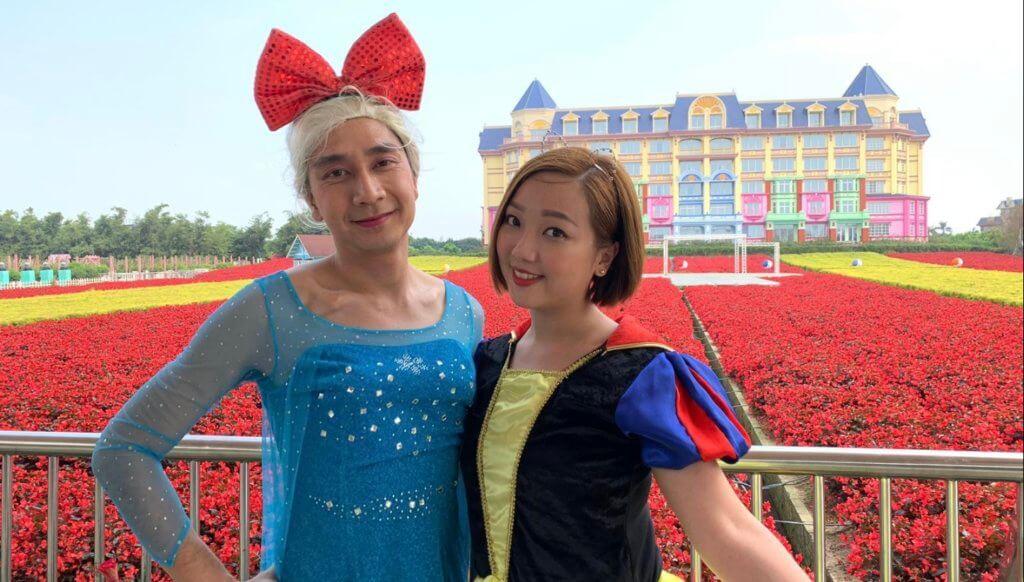 李尚正經常在節目中扮鬼扮馬,其Elsa造型更令人發笑。