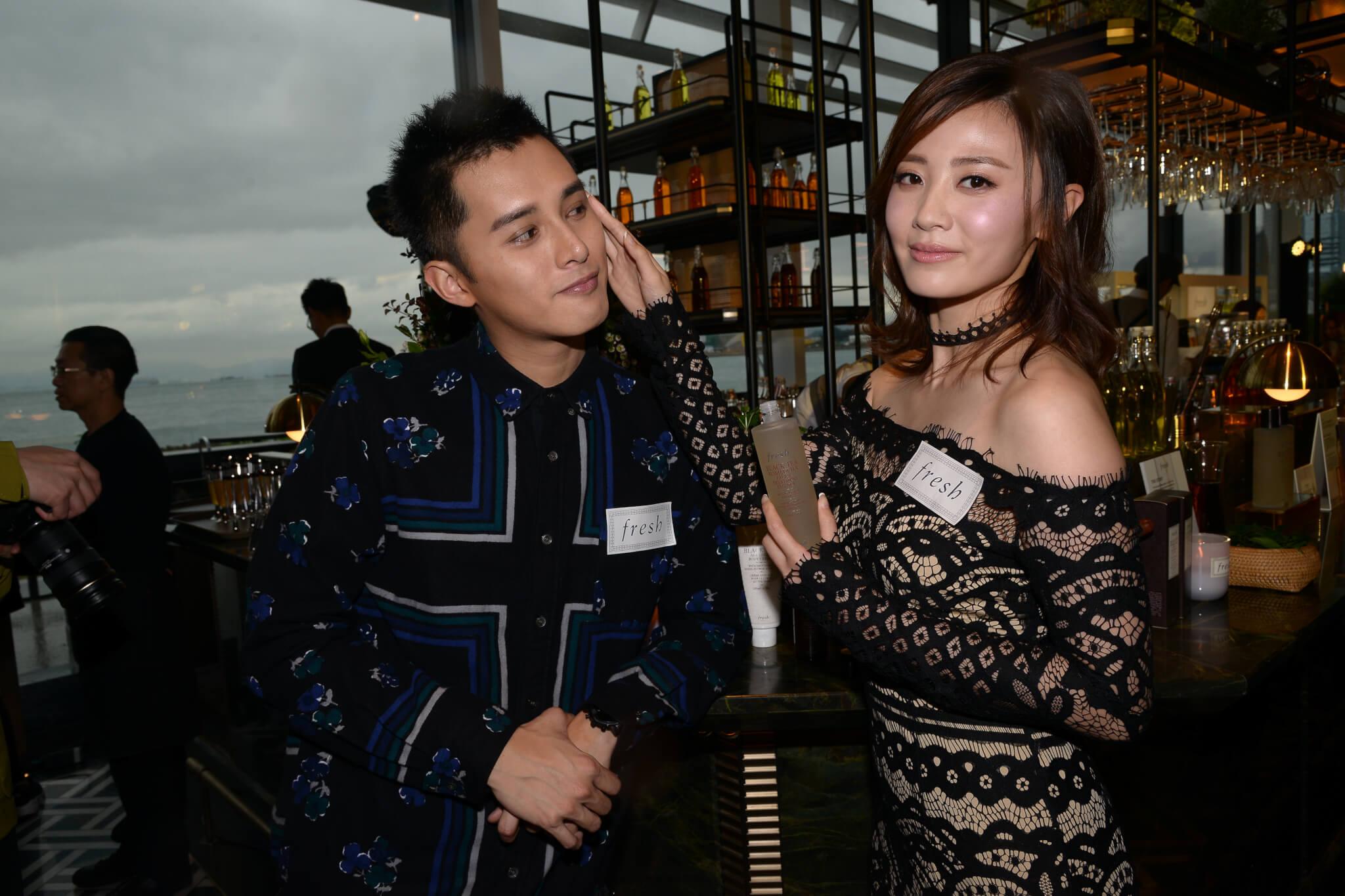 何廣沛剛與朱晨麗(朱朱)在泰國度過其三十一歲的生日,感情看似火速升溫,不過朱朱表示此行還有家長和小朋友。