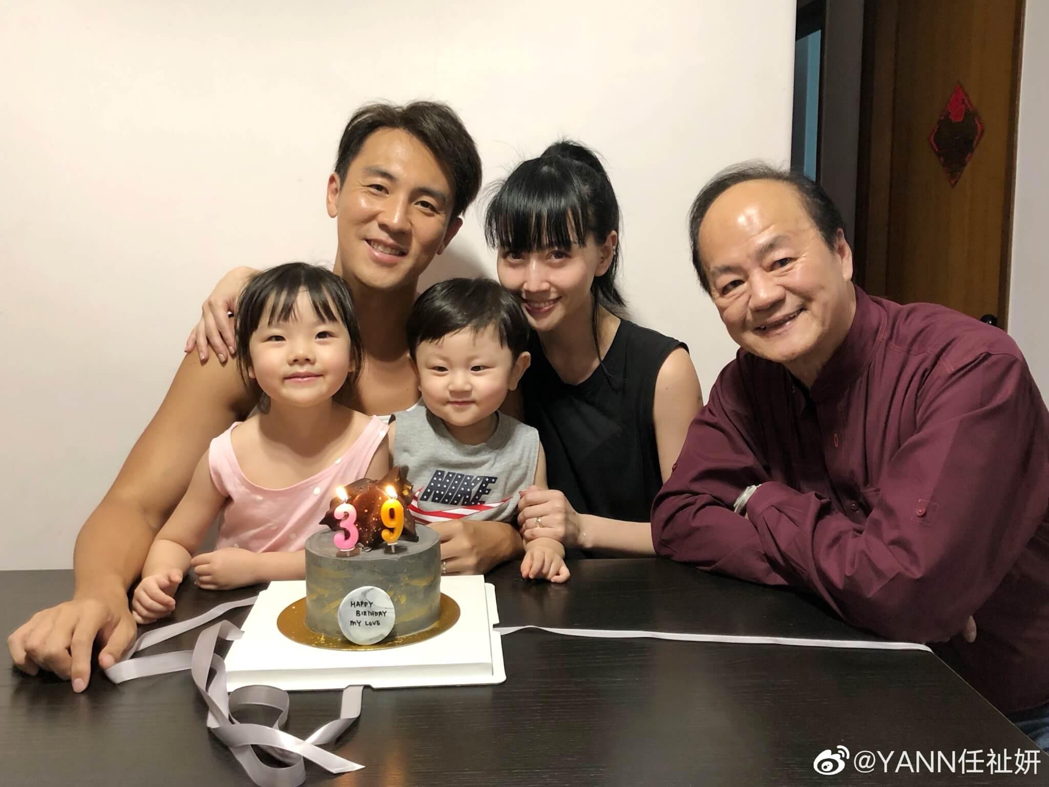 日前全家為他慶祝生日,連父親狄龍亦有出席。