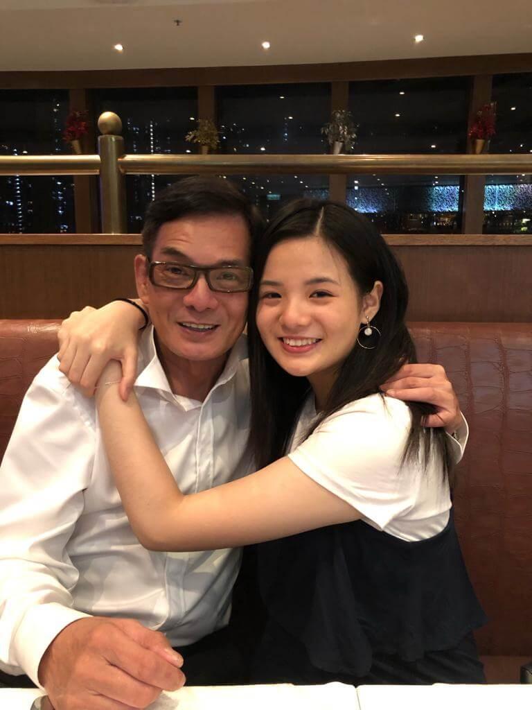 十七歲女兒Cherie是李國麟心中的寶貝