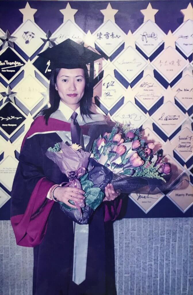 沈可欣在演藝學院畢業。