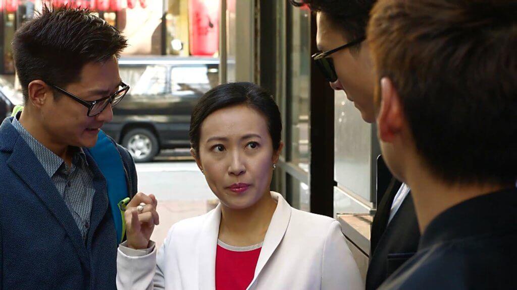 二人在《踩過界》中飾演聾啞夫婦,阿沈練手語練到崩潰。