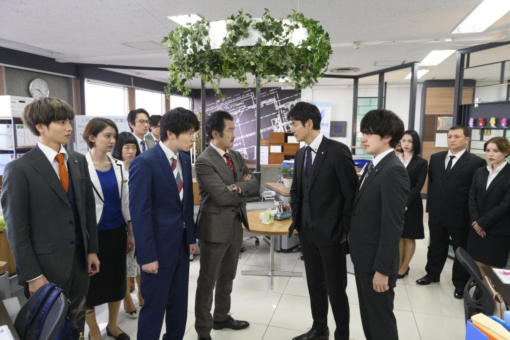 牧因調回總公司,工作上跟春田成了敵對關係。
