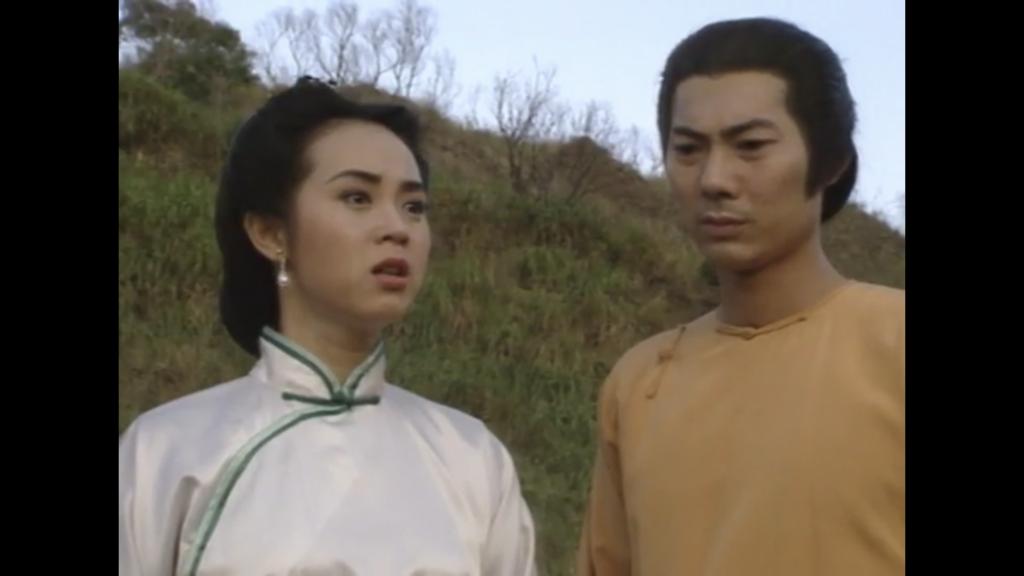 龐秋雁與鄧浩光在亞視的古裝劇中合作