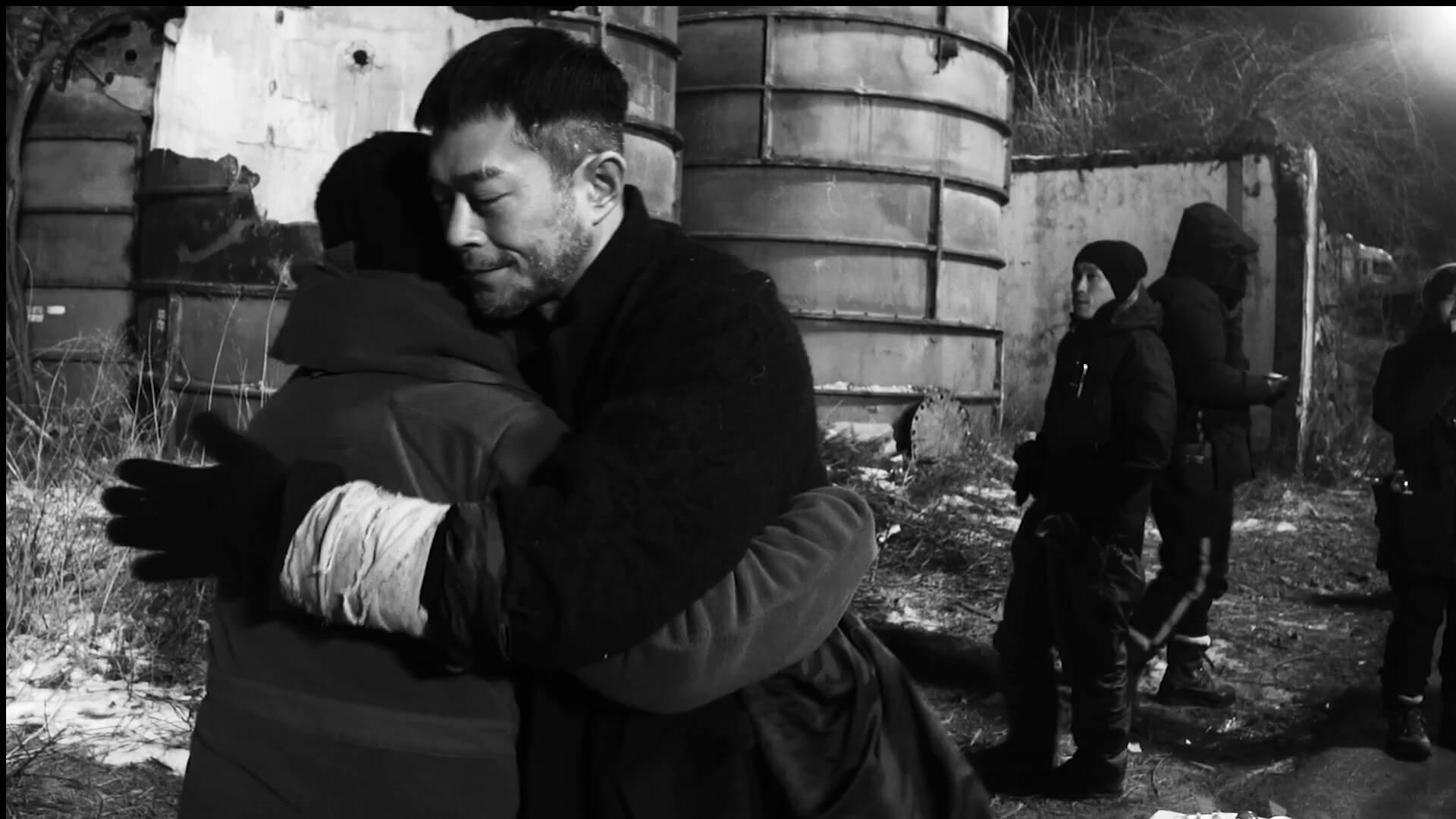 電影煞科時,古天樂上前與導演Juno擁抱。