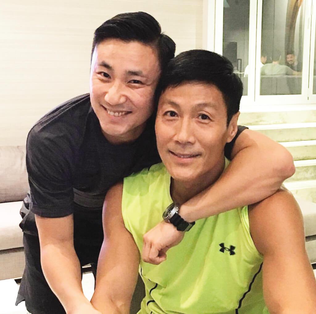 林國斌是他的好兄弟,經常勸解他、鼓勵他,甚至直斥其非,兩個人經常講心事。