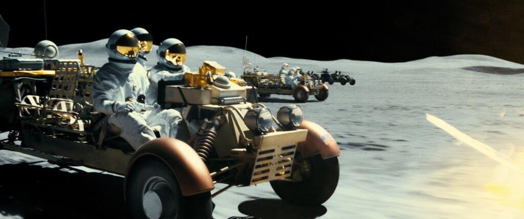 片中的太空場面拍得十分細膩考究