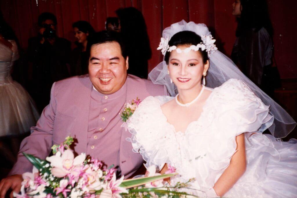 兩人九一年拉埋天窗結婚,婚姻今年踏入廿八周年。