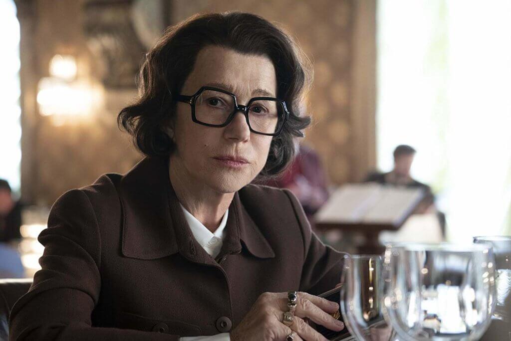 海倫美蘭化醜妝扮KGB指揮官,有驚喜。