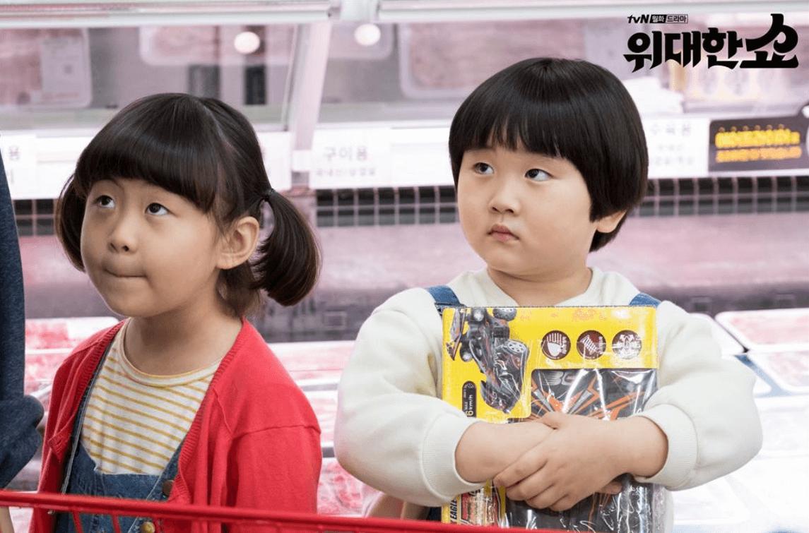 《偉大的Show》中的龍鳳胎金俊和朴藝娜非常可愛,也是劇集的看點之一。