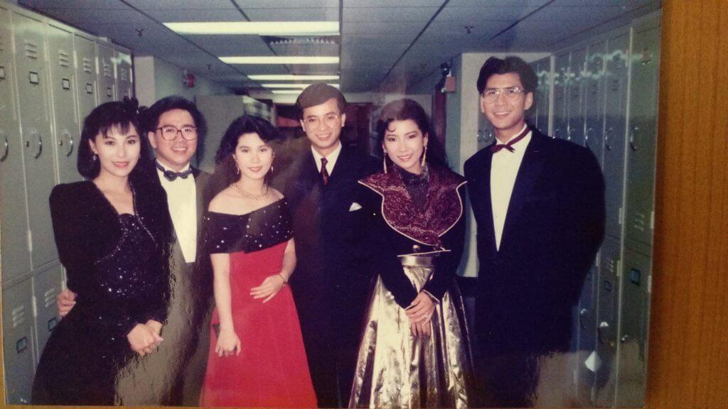 楊瑞麟主持《香港早晨》一段頗長時間,當年與余文詩及陳啟泰等人在台慶其中一個環節演出。