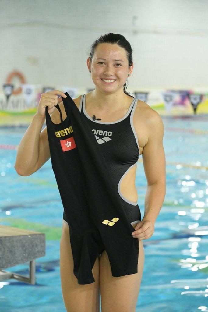 何詩蓓為奧運準備戰衣