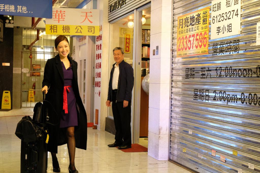 在《金宵大廈》中,一人分演兩角,她說做空姐Alex時,要給人爽快性格的感覺。