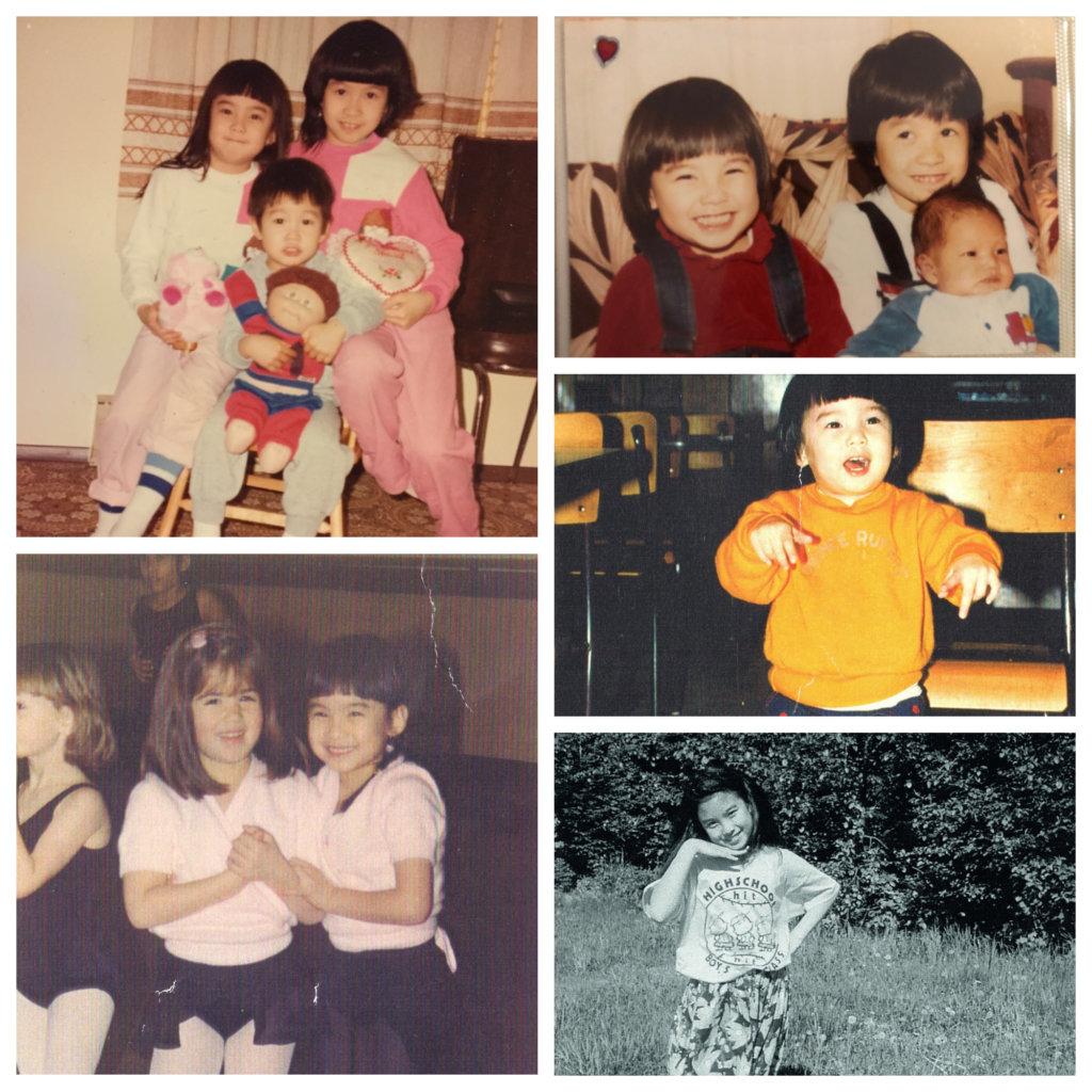 我和姊姊、弟弟的童年非常快樂
