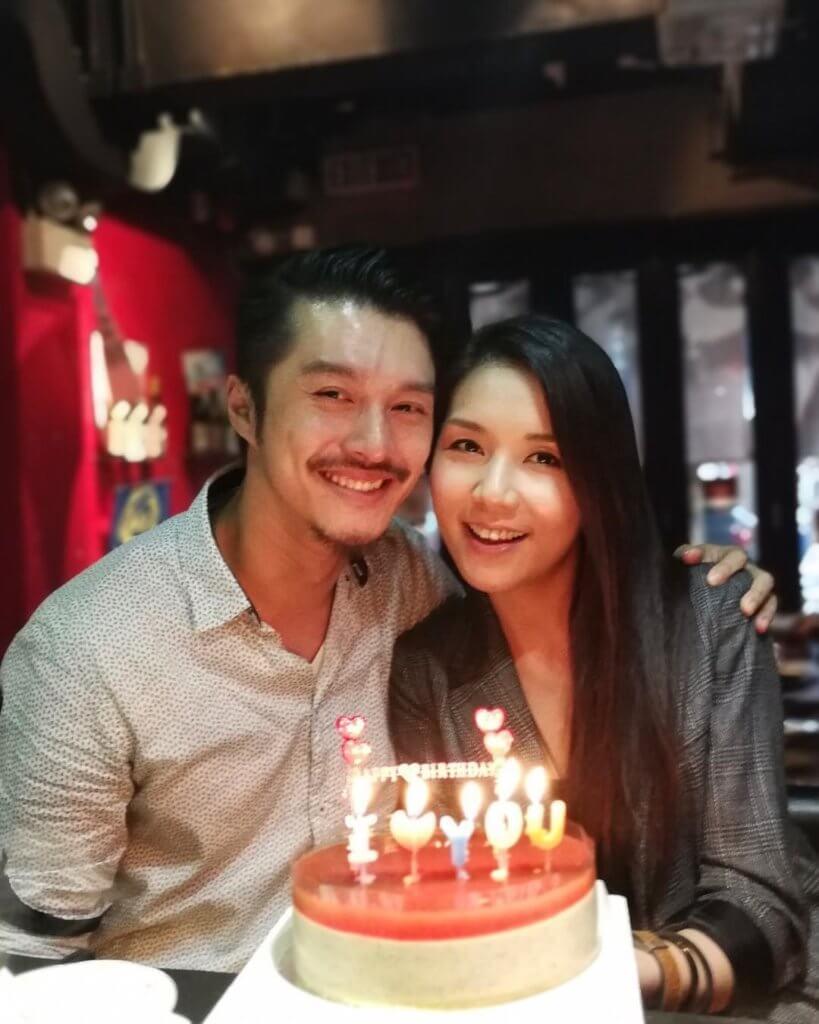 黃嘉樂與女友Samantha在社交網放閃,觀眾都讚他們很合襯。