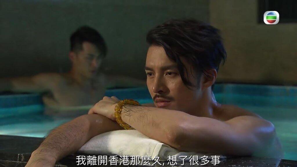 黃嘉樂在《果欄中的江湖大嫂》演滄桑黑幫大佬