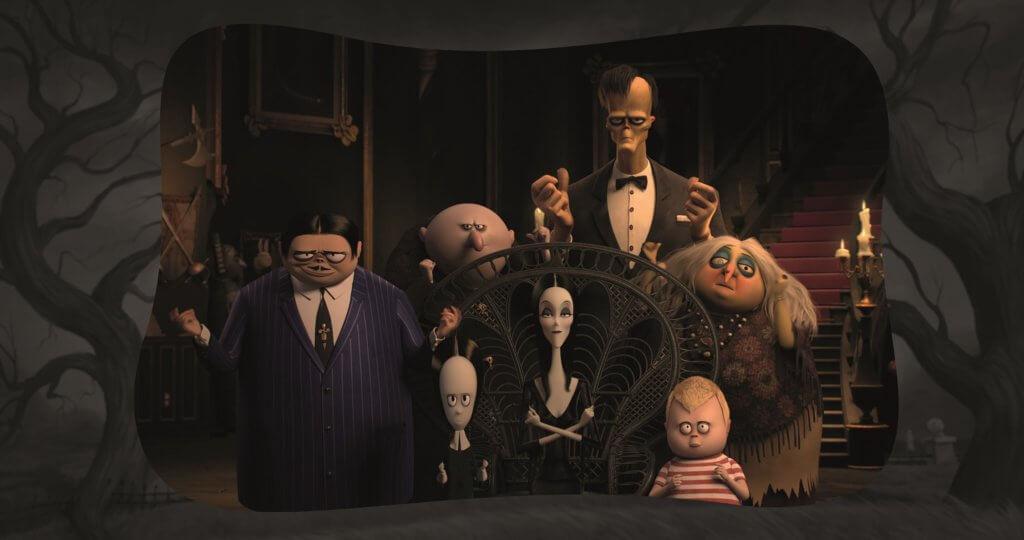 《愛登士家庭》首次製作成動畫電影,全家齊上齊落。