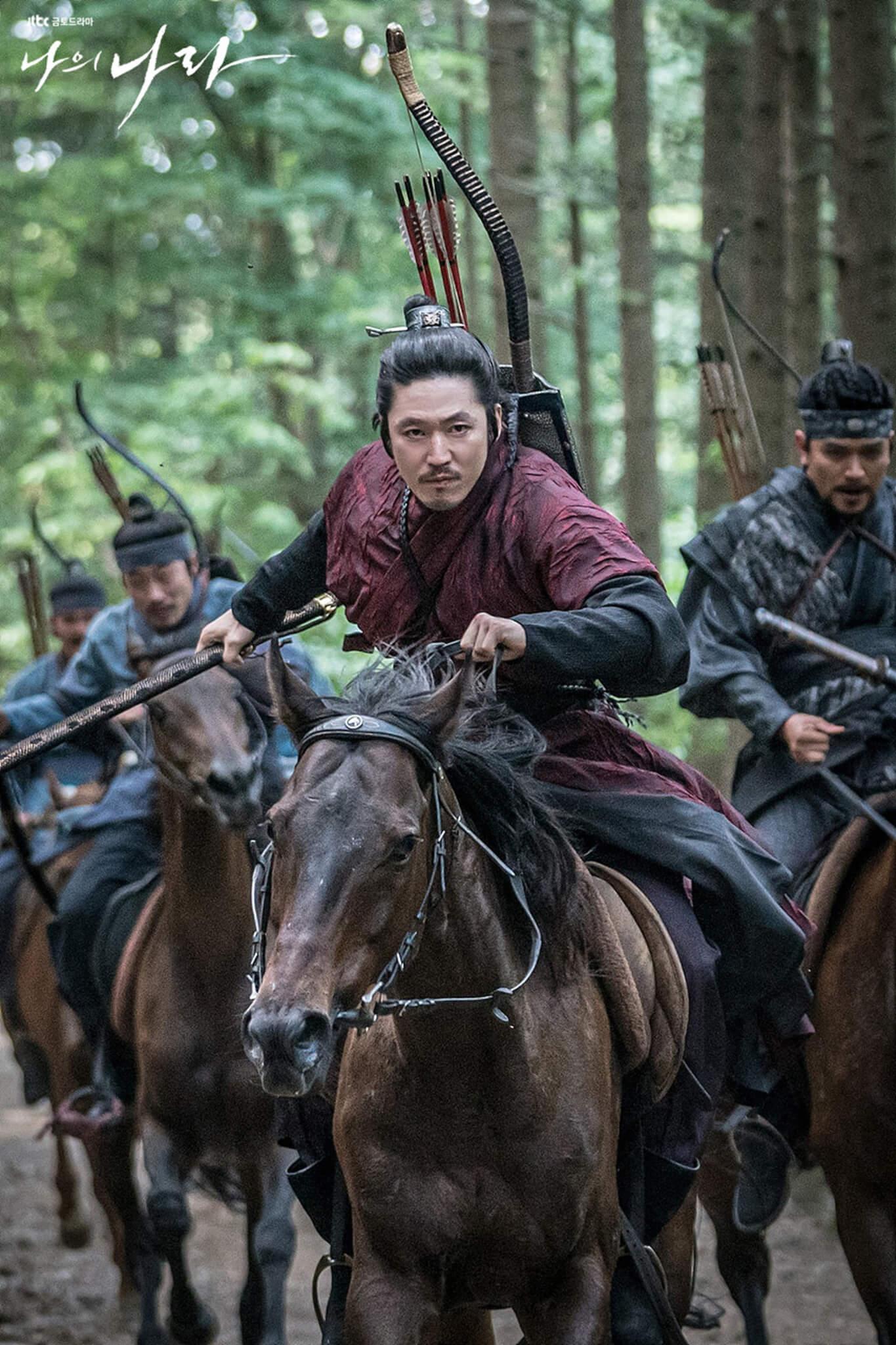 李芳遠打下的大片江山竟要拱手相讓,為生路他要以父王為敵。