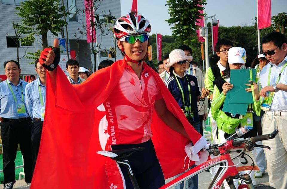 陳振興努力推廣香港山地單車的發展
