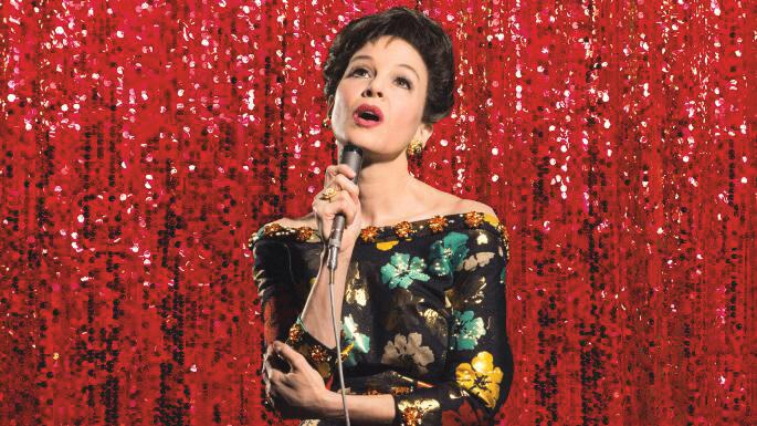 雲妮絲維嘉演出以荷李活傳奇茱迪嘉蘭生平為題材的電影《茱迪》