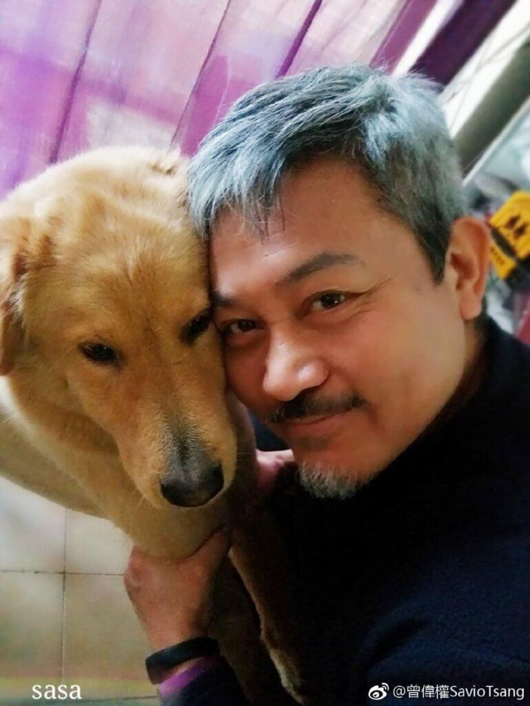 曾偉權收養過不少被棄養的動物,單身的他說現在寧將時間花給貓狗。