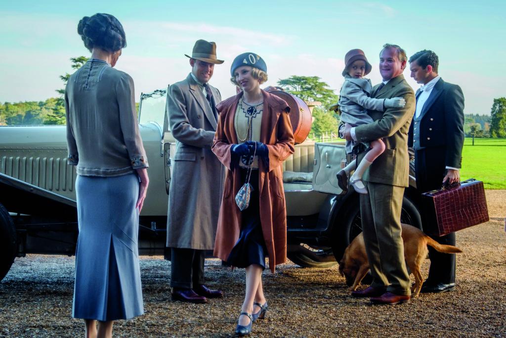 佈景及服裝都十分華麗的電影版《唐頓莊園》,對該劇死忠粉絲份外有親切感。