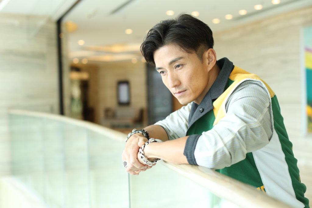 陳山聰首次演男一,他坦言也有壓力。