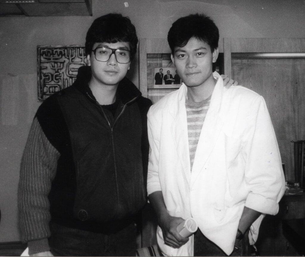 曾偉權入讀麗的電視(後改名亞洲電視)最後一期訓練班,與亞視小生伍衛國合作。
