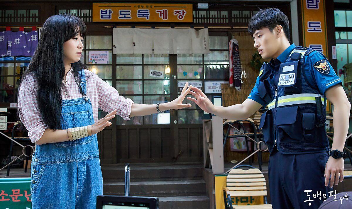 《山茶花開時》遠赴離首爾近五小時車程,位於慶尚北道的浦項九龍浦近代歷史文化街取景。