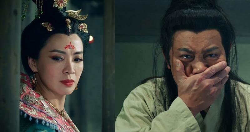 去年《宮心計2深宮計》,曾偉權為太平公主(陳煒)頂罪、掩嘴痛哭一幕受讚。