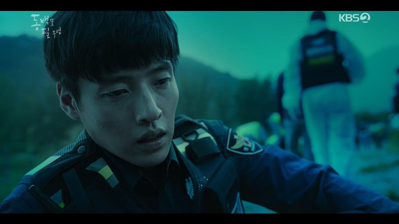 姜河那繼電影《青年警察》後,再穿上巡警制服。