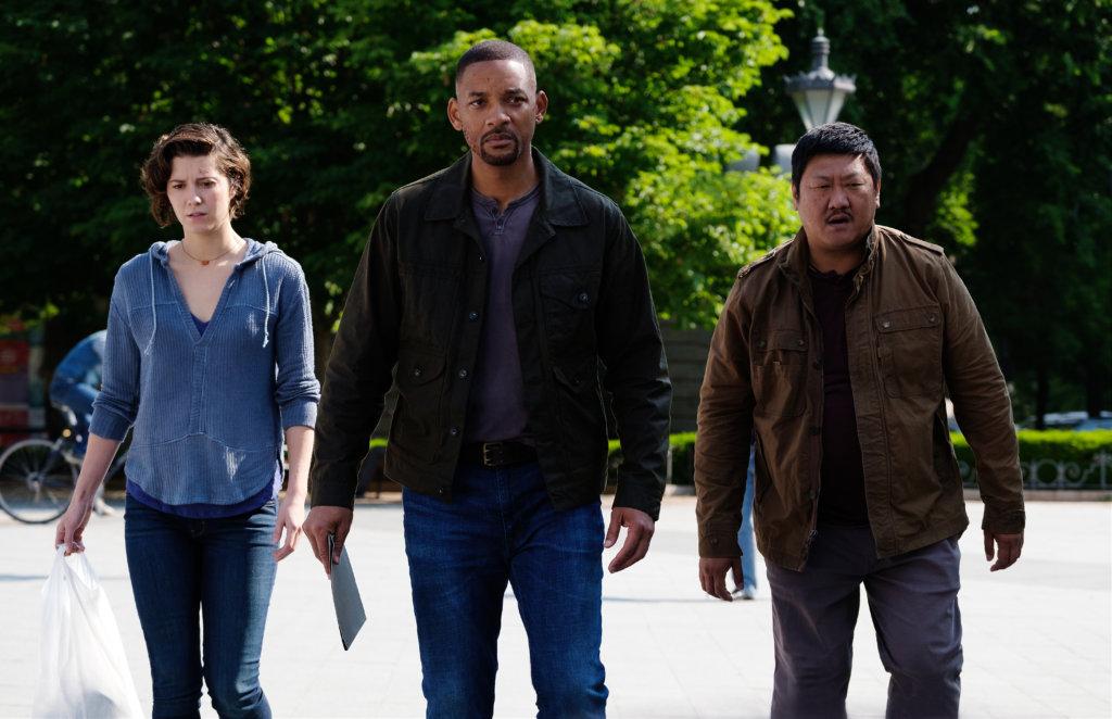 韋史密夫在《雙子任務》中有瑪莉伊莉沙伯雲絲迪及黃凱旋相助,一同出生入死。