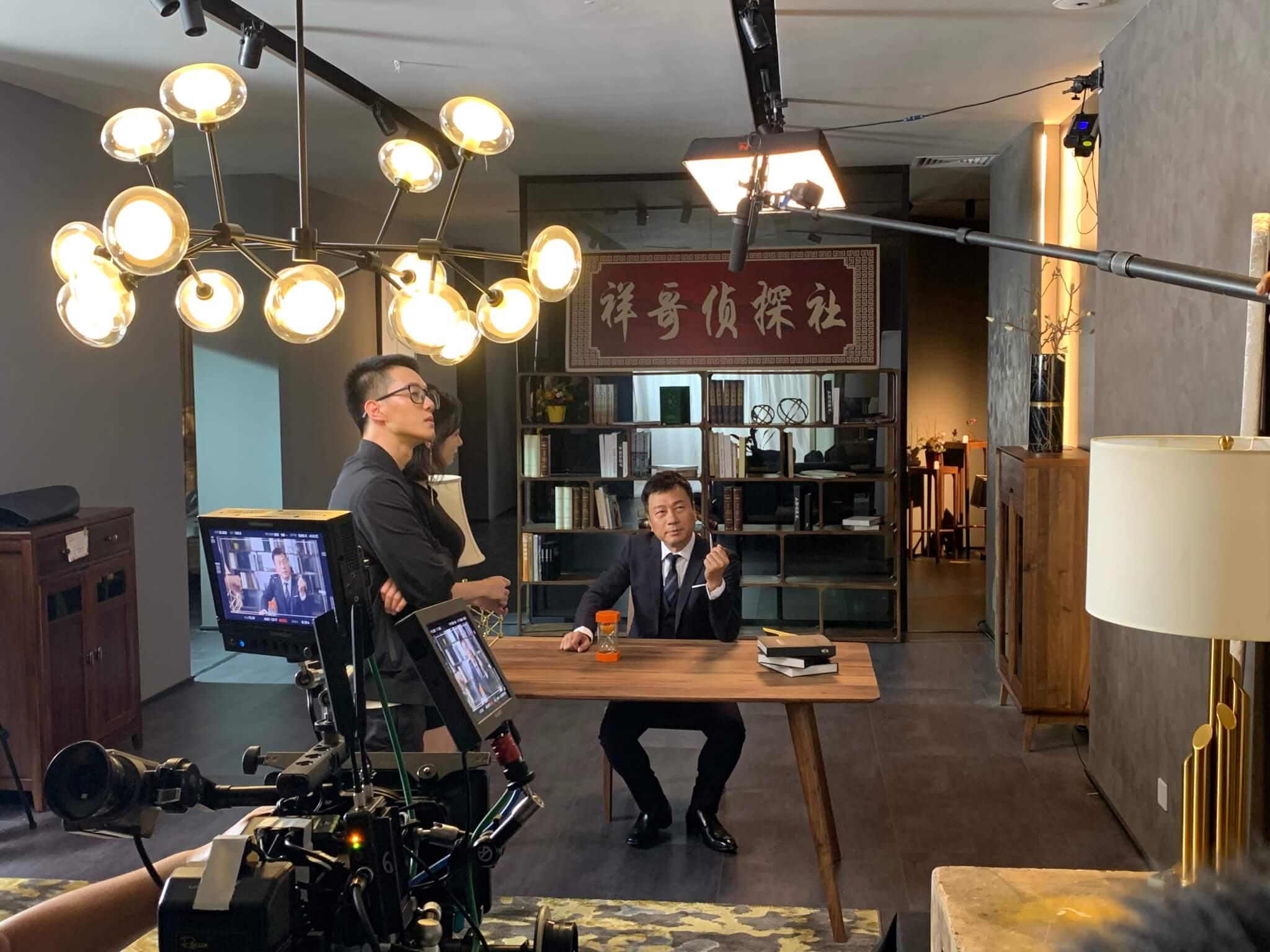 黎耀祥與內地製作公司合作拍攝短視頻,希望嘗試不一樣的工作。