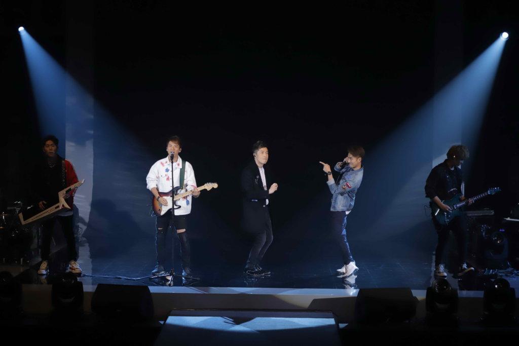 組合sp'ACE是第四場嘉賓,與馬仔合唱《紅色跑車》。