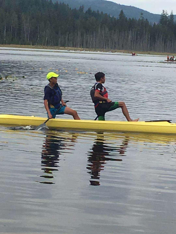 十五歲的兒童遺傳了運動細胞,更是冬季兩項和獨木舟的選手。