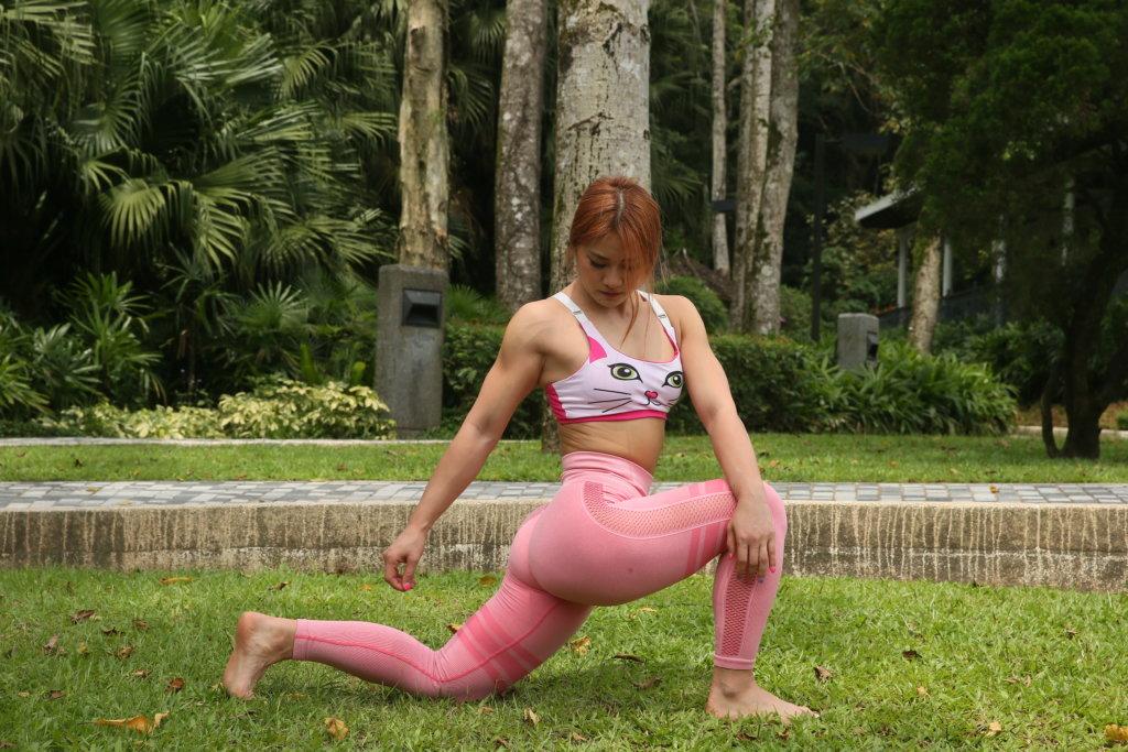 魏楚燕從健身運動尋找自我